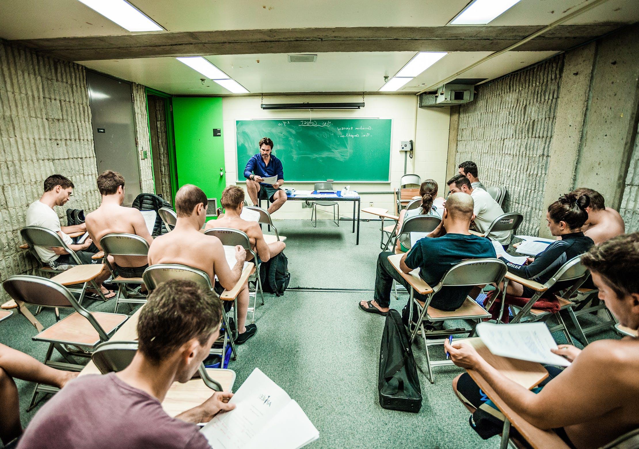 Psychologie de la performance - activités Aquatique CEPSUM