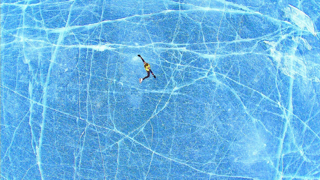 Bouger l'hiver   Le patin