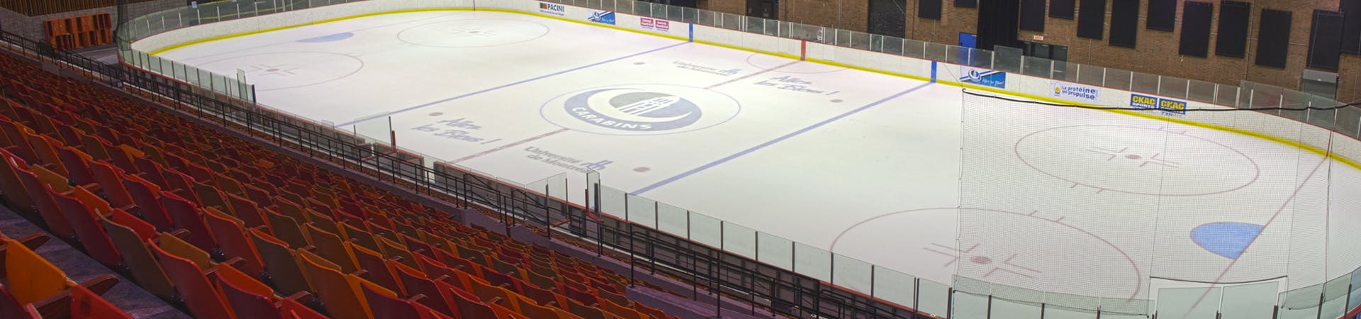 Location de patinoire au CEPSUM