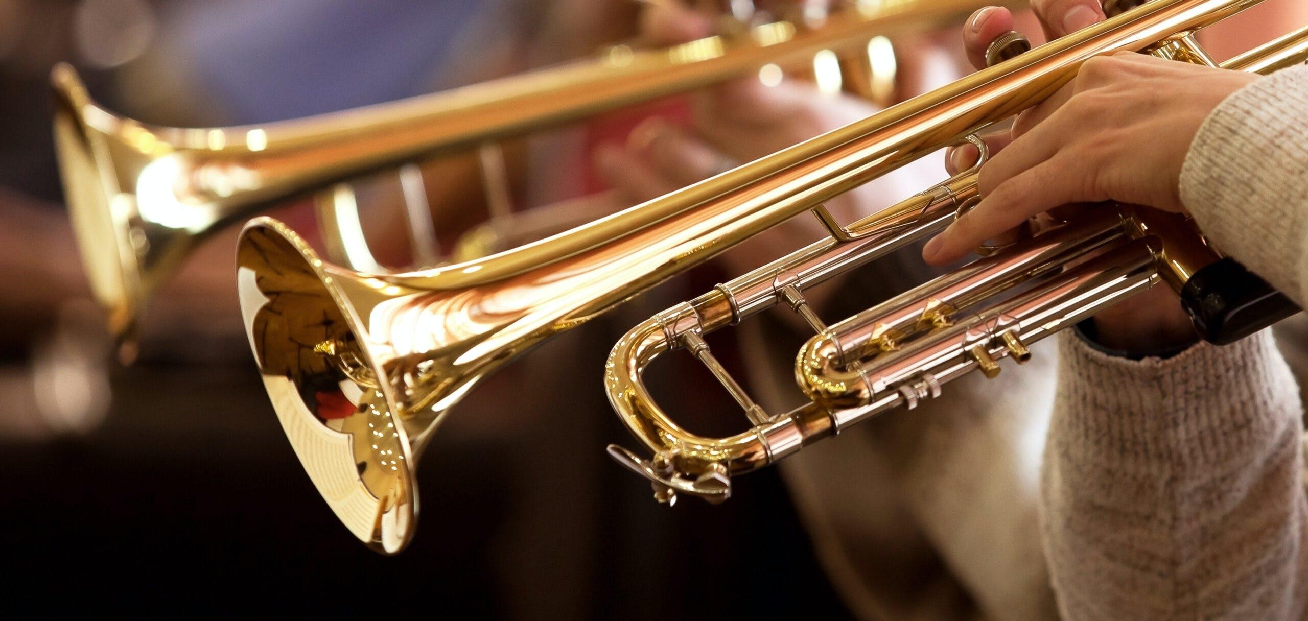 Camp de jour - Fanfare athlétique - Instruments à vents