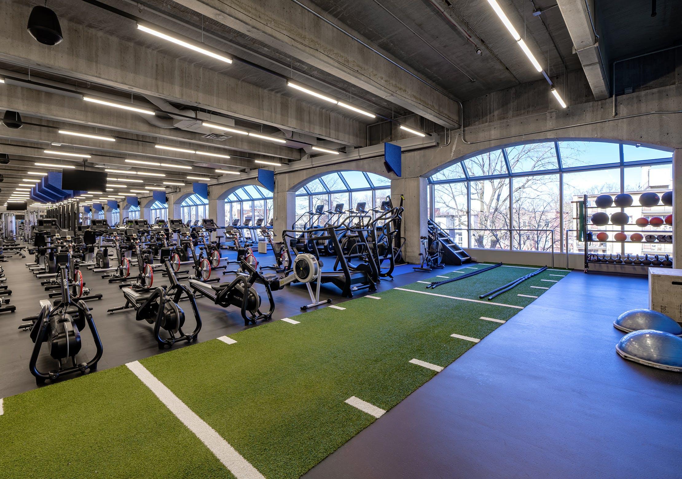 Salle d'entrainement - Zone d'entrainement fonctionnel | CEPSUM